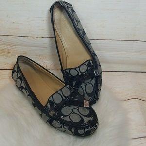 Coach A2163 Frida flats Oxfords penny loafer sz 9